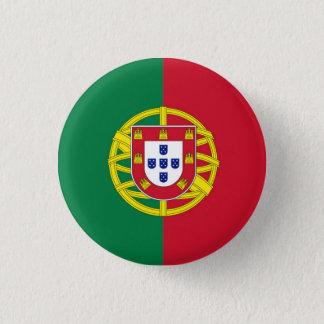 Bóton Redondo 2.54cm emblema redondo Portugal