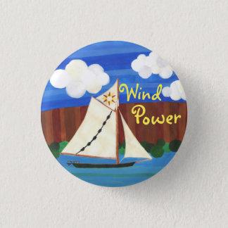 Bóton Redondo 2.54cm Energias eólicas - Clearwater