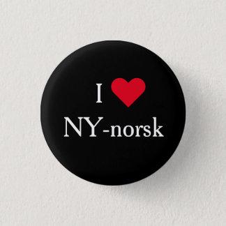Bóton Redondo 2.54cm Eu amo o bagde de NY-norsk - de Lilyhammer Noruega