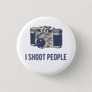 Bóton Redondo 2.54cm Eu disparo em pessoas da câmera da fotografia