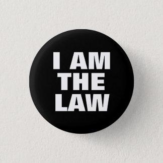 Bóton Redondo 2.54cm Eu sou a lei