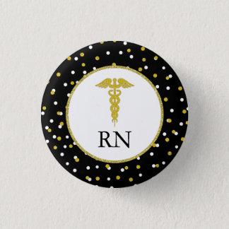 Bóton Redondo 2.54cm Favor de festa de formatura da enfermeira do RN,