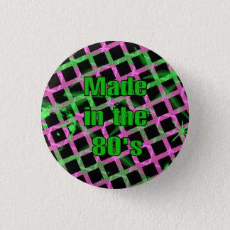 """Bóton Redondo 2.54cm """"Feito botão no anos 80"""""""