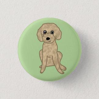 Bóton Redondo 2.54cm Filhote de cachorro distorcido bonito de Lil: 3