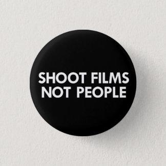 Bóton Redondo 2.54cm Filmes do tiro, não pessoas