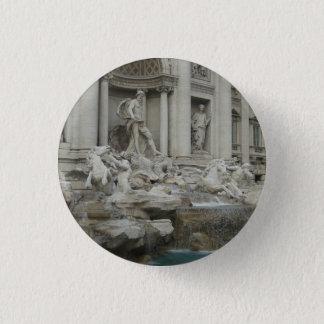 Bóton Redondo 2.54cm Fonte do Trevi em Roma