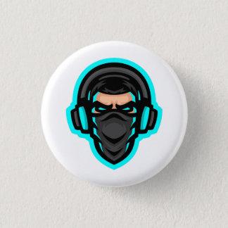 Bóton Redondo 2.54cm Garbo o botão do Gamer