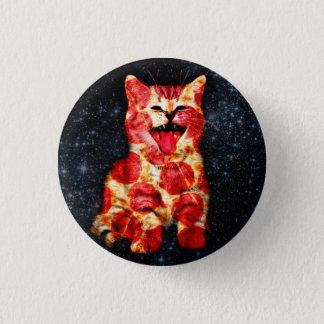 Bóton Redondo 2.54cm gato da pizza - gatinho - gatinho