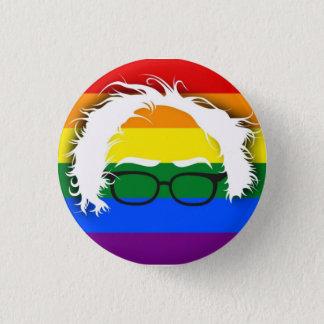 Bóton Redondo 2.54cm Gay/lésbica para máquinas de lixar de Bernie