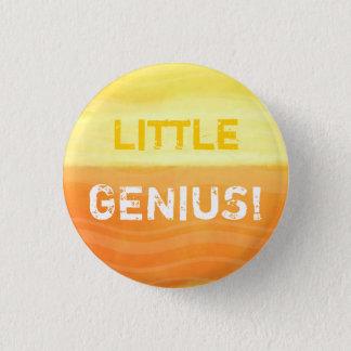 Bóton Redondo 2.54cm Gênio pequeno - crachá do botão