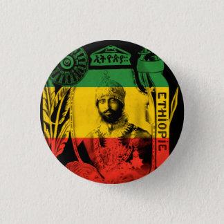 Bóton Redondo 2.54cm Haile Selassie seus botões imperiais da majestade
