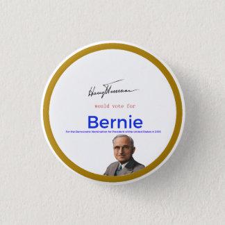 Bóton Redondo 2.54cm Harry S Truman para máquinas de lixar de Bernie