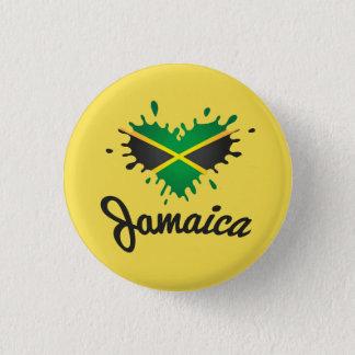 Bóton Redondo 2.54cm Jamaica Flag Islândia - Proud Jamaicans Button -