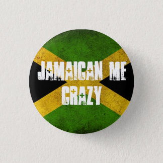 Bóton Redondo 2.54cm Jamaicano mim louco