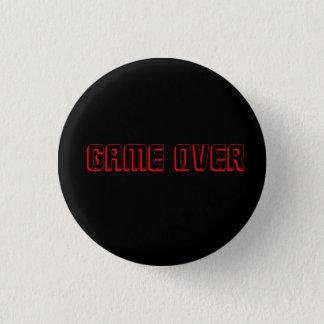 Bóton Redondo 2.54cm jogo do botão do jogo sobre