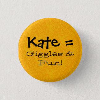 Bóton Redondo 2.54cm Kate = risos & divertimento