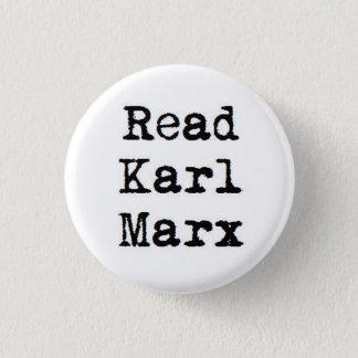 Bóton Redondo 2.54cm Leia Karl Marx