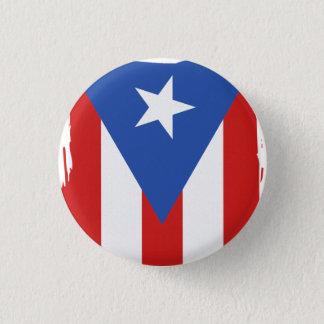 Bóton Redondo 2.54cm Lembrança: Bandeira de Puerto Rico: Pin