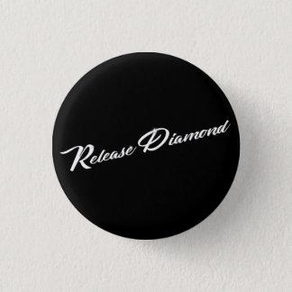 Bóton Redondo 2.54cm Libere o botão do diamante