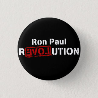 Bóton Redondo 2.54cm Logotipo do inverse do Pin do botão da revolução