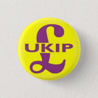 Bóton Redondo 2.54cm Logotipo do partido de UKIP