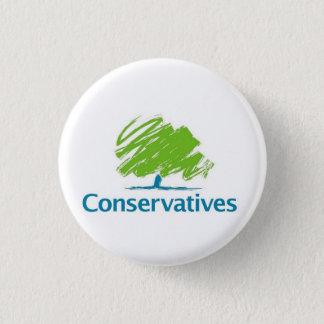Bóton Redondo 2.54cm Logotipo dos conservadores