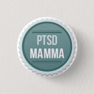Bóton Redondo 2.54cm Mamães de PTSD