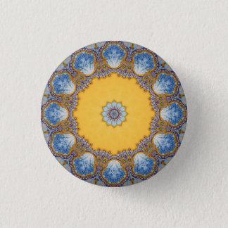 Bóton Redondo 2.54cm Mandala do caleidoscópio em Portugal: Teste padrão