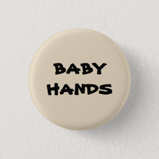 Bóton Redondo 2.54cm mãos do bebê