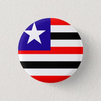 Bóton Redondo 2.54cm Maranhão, botão brasileiro da bandeira do estado