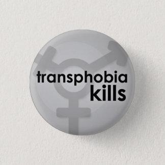 Bóton Redondo 2.54cm Matares de Transphobia
