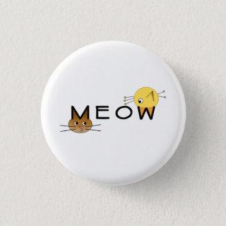 Bóton Redondo 2.54cm Meow