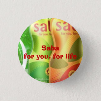 Bóton Redondo 2.54cm mini botão do saba