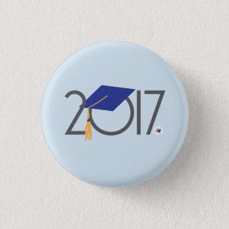 Bóton Redondo 2.54cm Mini Pin 2017 da graduação