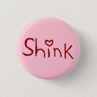 """Bóton Redondo 2.54cm Minúsculo-botão de """"Shink"""""""