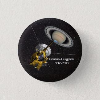 Bóton Redondo 2.54cm Missão de Cassini Huygens a Saturn
