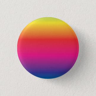 Bóton Redondo 2.54cm Modelo da imagem do arco-íris