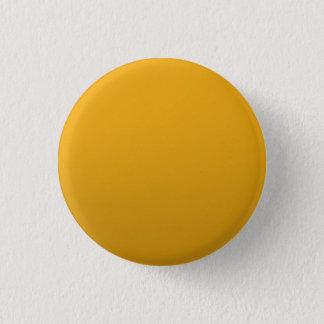 Bóton Redondo 2.54cm MODELO vazio do ouro: Adicione o texto, imagem,