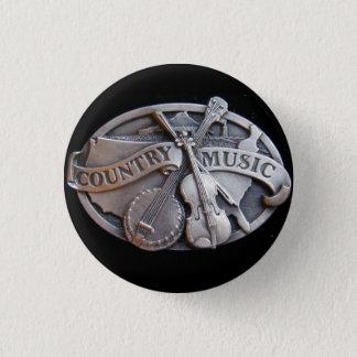 Bóton Redondo 2.54cm música country