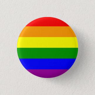 Bóton Redondo 2.54cm MyPride365 - PRINCÍPIOS - botão do arco-íris do