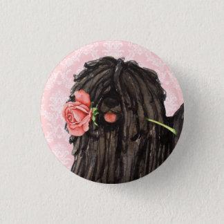 Bóton Redondo 2.54cm Namorados Puli cor-de-rosa