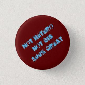 Bóton Redondo 2.54cm Não botão nao cis do excelente de Hetero 100%