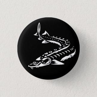 Bóton Redondo 2.54cm Novo-Mini botão tribal