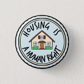 Bóton Redondo 2.54cm O alojamento é um botão direito humano