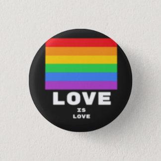 Bóton Redondo 2.54cm O amor é amor