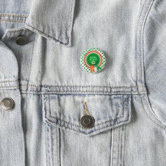 Bóton Redondo 2.54cm O botão 53086A3 do St Patrick do prazer de