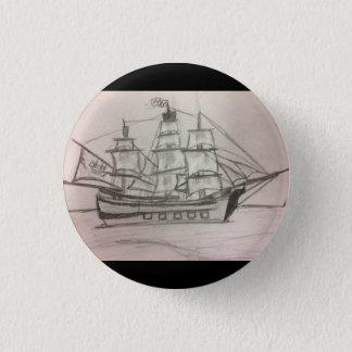 Bóton Redondo 2.54cm O botão do marinheiro
