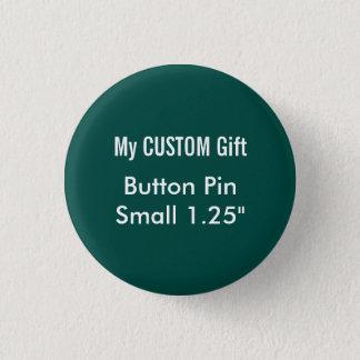 """Bóton Redondo 2.54cm O costume imprimiu 1,25"""" VERDES pequenos do Pin do"""