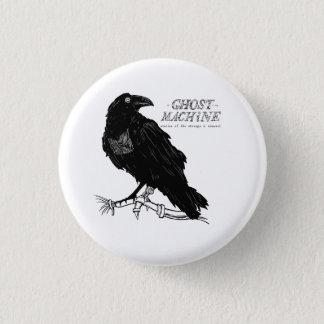 """Bóton Redondo 2.54cm O fantasma em meu botão do """"corvo"""" da máquina"""
