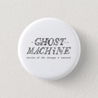 Bóton Redondo 2.54cm O fantasma em meu botão do logotipo da máquina
